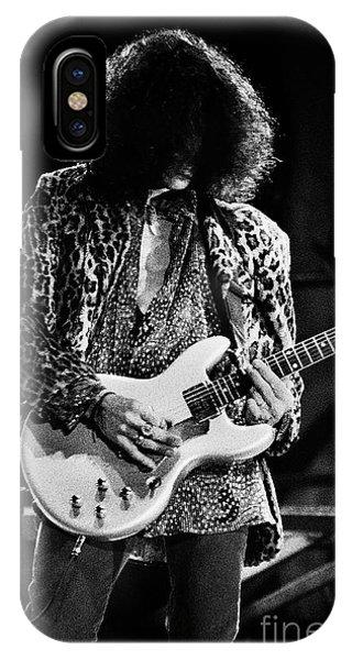 Steven Tyler iPhone Case - Aerosmith-94-joe-1206 by Gary Gingrich Galleries