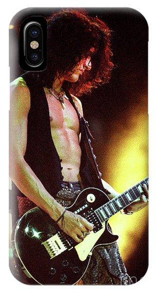 Steven Tyler iPhone Case - Aerosmith-94-joe-dreamon by Gary Gingrich Galleries