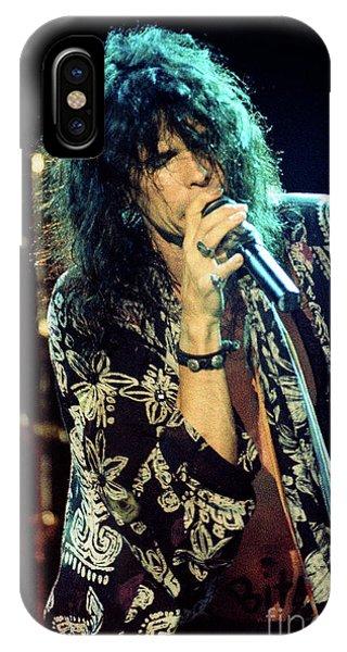 Steven Tyler iPhone Case - Aerosmith-94-steven-1174 by Gary Gingrich Galleries