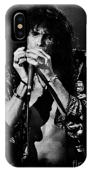 Steven Tyler iPhone Case - Aerosmith-94-steven-1222 by Gary Gingrich Galleries