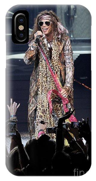Steven Tyler iPhone Case - Aerosmith Singer Steven Tyler by Concert Photos