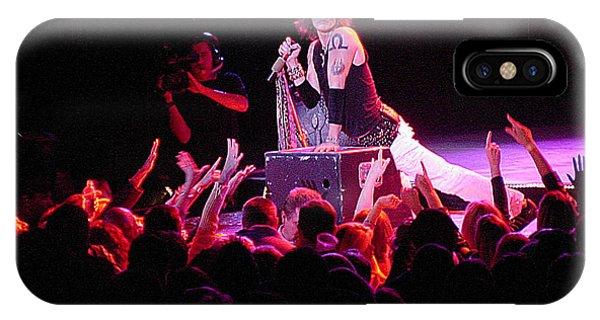 Steven Tyler iPhone Case - Aerosmith-steven Tyler-00088 by Gary Gingrich Galleries