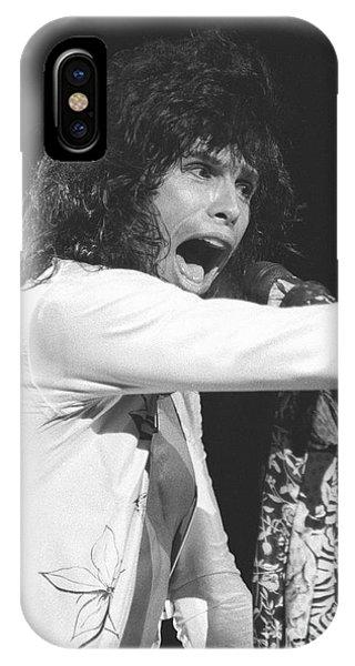 Steven Tyler iPhone Case - Aerosmith Steven Tyler by Concert Photos