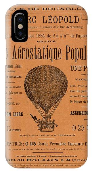 Aerostatique Populaire IPhone Case