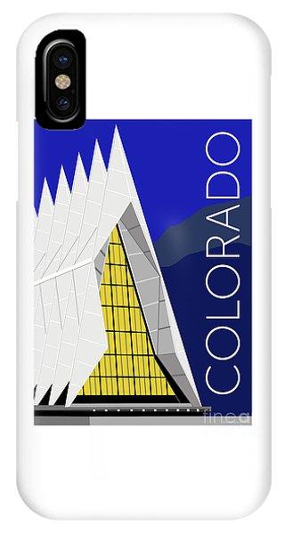 IPhone Case featuring the digital art Colorado Afa Chapel by Sam Brennan