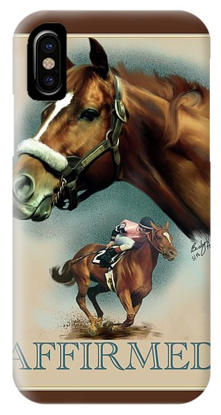 Affirmed With Name Decor IPhone Case