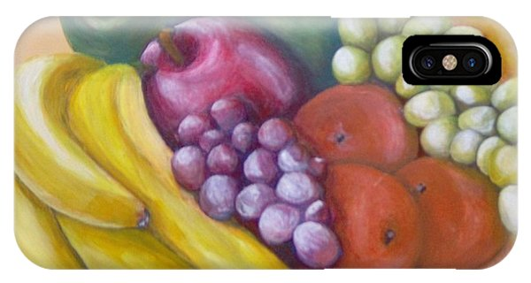IPhone Case featuring the painting Affluent by Saundra Johnson