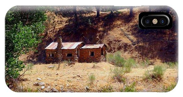 Cozy Cabin Kern County California IPhone Case