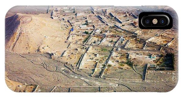 Afghan River Village IPhone Case