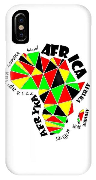 Africa Continent IPhone Case