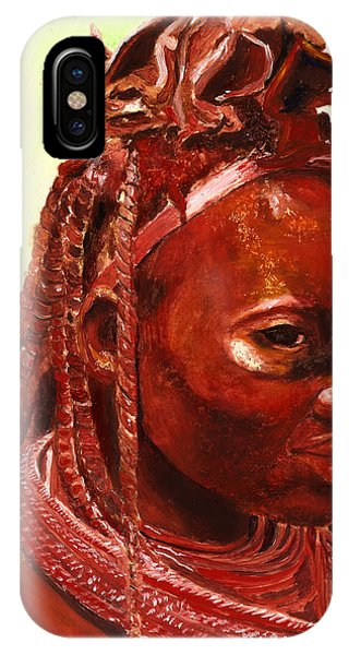 Figurative iPhone Case - African Beauty by Portraits By NC