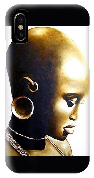 African Lady - Original Artwork IPhone Case