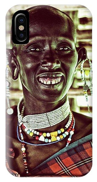 African Maasai Teacher IPhone Case