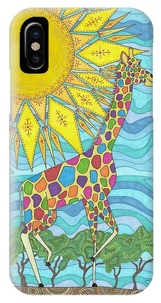 African Rainbow IPhone Case