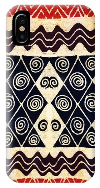 African Tribal Textile Design IPhone Case