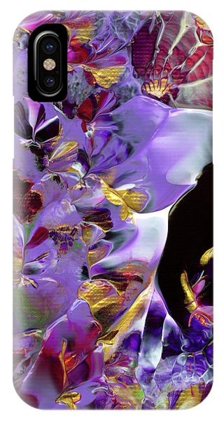 African Violet Awake #2 IPhone Case