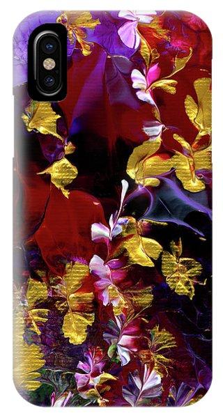 African Violet Awake #3 IPhone Case