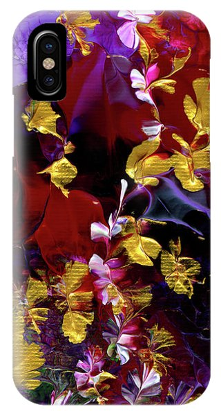 African Violet Awake #3 IPhone Case