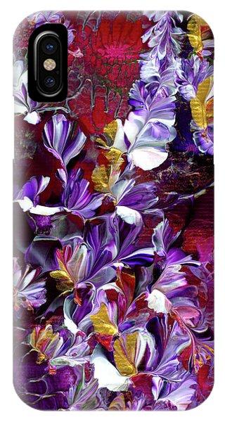 African Violet Awake #4 IPhone Case