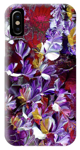 African Violet Awake #4 IPhone Case