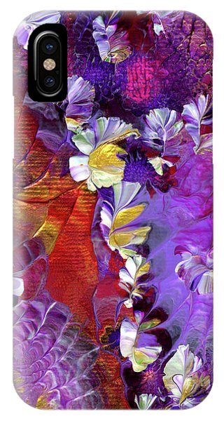 African Violet Awake #5 IPhone Case
