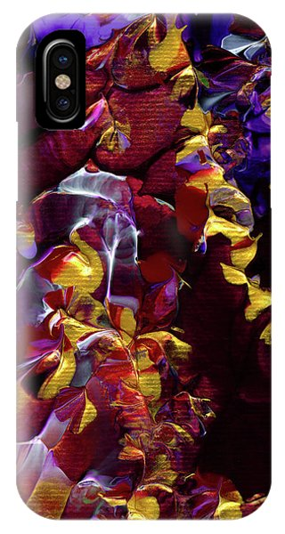 African Violet Awake IPhone Case