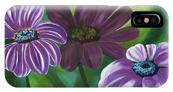 African Violets IPhone Case
