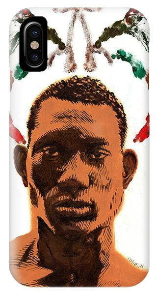 African Wings IPhone Case