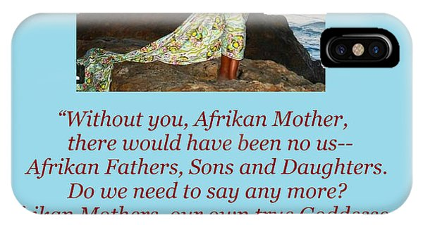 Afrikan Mother IPhone Case