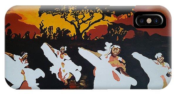 Afro Carib Dance IPhone Case