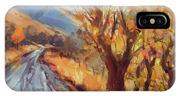 Ranch iPhone Case - After An Autumn Rain by Steve Henderson
