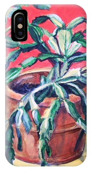 Christmas Cactus IPhone Case