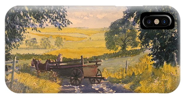 After Rain On The Wolds Way IPhone Case