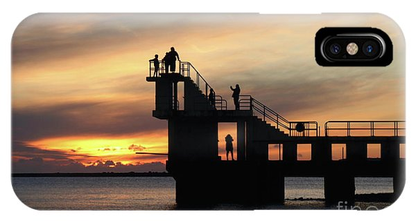 After Sunset Blackrock 5 IPhone Case