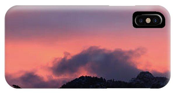 After Sunset - Panorama IPhone Case