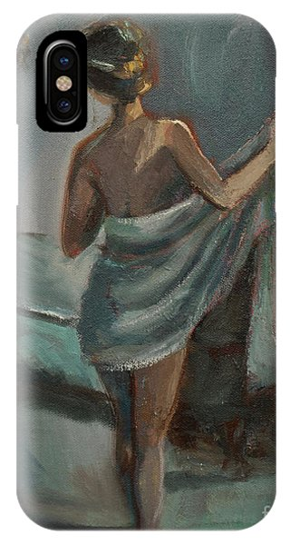 After The Bath IPhone Case