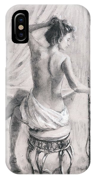 Luxury iPhone Case - After The Bath by Steve Henderson