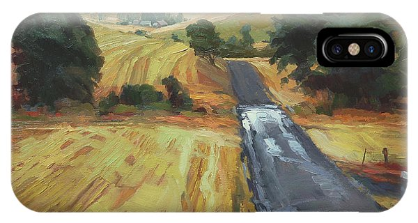 After The Harvest Rain IPhone Case