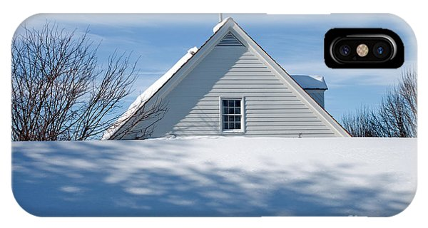 After The Snowfall IPhone Case