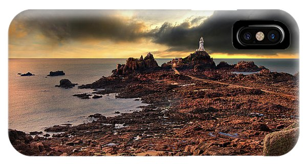 after the storm at La Corbiere IPhone Case