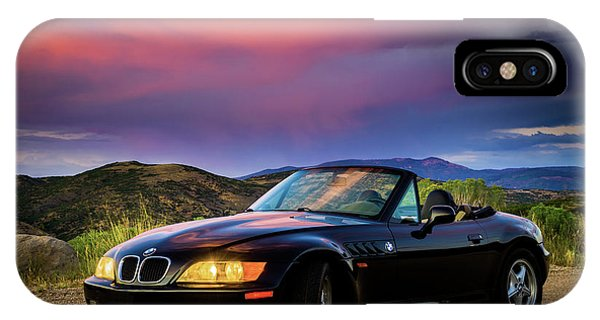 After The Storm - Bmw Z3 IPhone Case