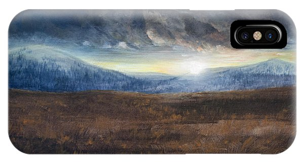 After The Storm - Cool Tone IPhone Case