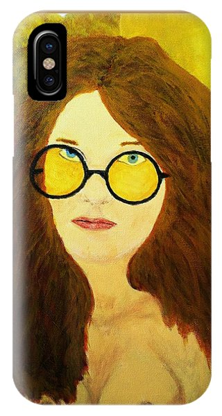 Afterlife Concerto Janis Joplin IPhone Case