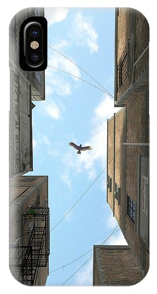 Rendering iPhone Case - Afternoon Alley by Cynthia Decker