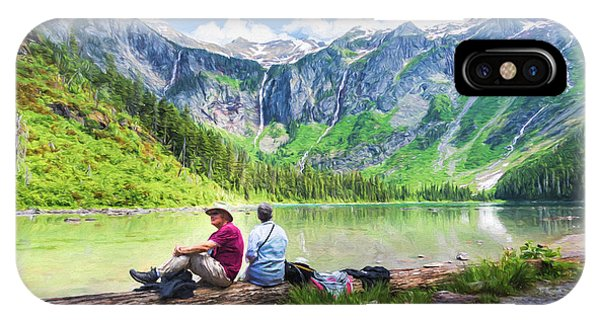 Afternoon At Avalanche Lake IPhone Case