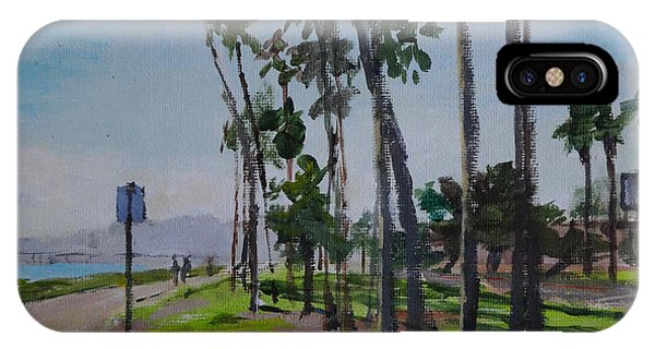 Afternoon At East Beach IPhone Case