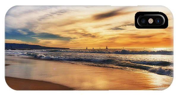 IPhone Case featuring the photograph Afternoon At The Beach by Michael Hope
