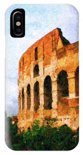 Afternoon In Rome IPhone Case