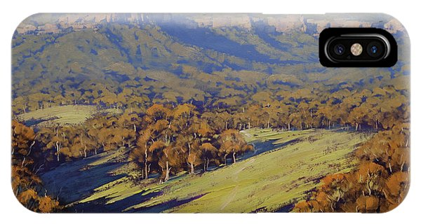 Afternoon Light Megalong Valley Phone Case by Graham Gercken