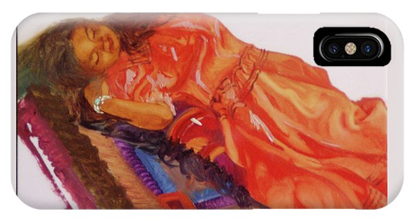 Betty Billups iPhone Case - Afternoon Nap by Betty Jean Billups